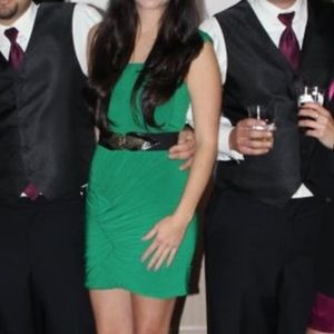 Gianni Bini Short Emerald Green Dress